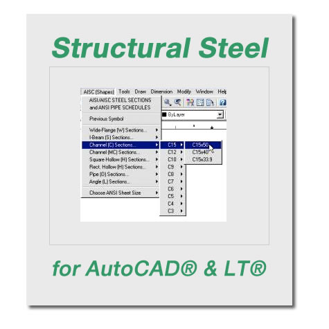 Structural Steel CAD Blocks